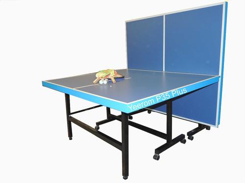 Mesa de ping pong plus plegable reforzada 8 ruedas yeerom fs2ae precio d argentina - Mesa de ping pong precio ...