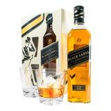 Whisky Johnnie Walker Black Label Negro + 2 Vasos. Sufin