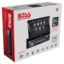 Stereo Boss Bv9973 Dvd Bt Sd Usb 340 W Tactil Motorizada 7p