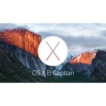 Osx El Capitan 10.11 Actualizar Reparar Desactualizar