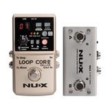 Nux Loop Core Deluxe Pedal Looper True By Pass