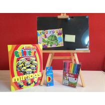 Regalo Para Día Del Niño. Kit Para Pintar