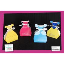 Souvenirs Eventos Cumpleaños Cajas Princesas Cenicienta