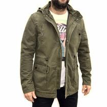 Campera Parka Gabardina Militar Abrigo Hombre The Big Shop