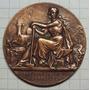 Medalla Ferrocarril De San Juan A Serrezuela 20 Marzo 1904