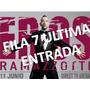 Entrada Eros Ramazzotti Fila 7 Directv Arena 11 De Junio!!