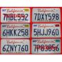 Antiguas Patentes De California (estados Unidos) Originales!