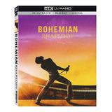 Bohemian Rhapsody 4k Ultra Hd + Blu-ray Orig Nuevo Importado