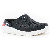 Zuecos Literide Clog Black Crocs Sport 78 Tienda Oficial