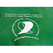 Pañuelo Campaña Nacional Aborto Seguro, Legal Y Gratuito