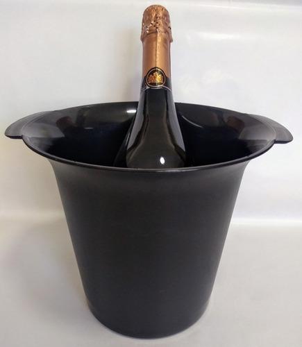 Frapera Hielera Plastica Con Asas Champagne En Venta En