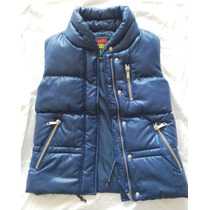 Chaleco Wanama, Winter Shiny Jacket, Color Azul, Nuevo.