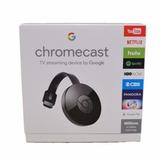 Google Chromecast 2da Generacion Original Con Fuente!