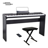 Piano Electrico Sensitivo Artesia + Mueble, Banqueta + Envio
