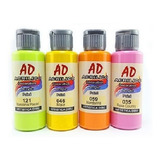 Set Acrílicos Ad 60 Ml X 36 Unidades Pintura Acrílica Envíos