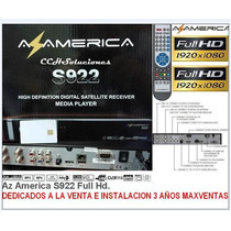 Receptor Az America S922 (original) Full Hd
