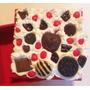 Caja Decorada Chocolates Y Crema 15 Años Souvenires
