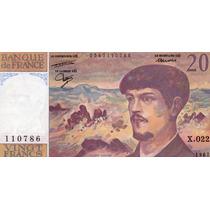 Billete De Francia - 20 Francos - 1987 - En Mendoza