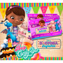 Kit Imprimible Doctora Juguetes - Editable **incluye Candy**