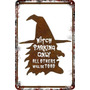 Carteles Chapa 60x40 Parking Only Witches Witch Bruja Pa-107