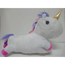 Pantuflas Unicornios Con Luz Led Niña/ Dama (del 34 Al 40)