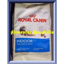 Royal Canin Indoor 27 X 10kg + 20 Kg Piedras Sanit. S/cargo