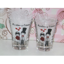 Souvenirs Vasito Shot De Tequila Casamiento, 18 Y 15 Años