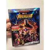 Avengers / Vengadores : Infinity War - Blu Ray 100% Original