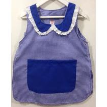 Guardapolvos jardin guardapolvos en uniformes nuevo en for Azul naranja jardin de infantes