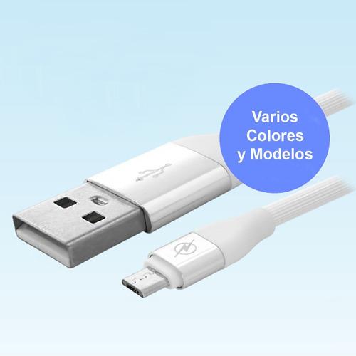 Cable Reforzado De Datos Y Carga Usb Tipo C X 1mts Rosa
