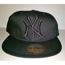 Gorra Visera Plana Snapback Regalos Ny Yankees