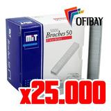 Broche Mit Abrochadora Mit 50 X5000 - Pack X 25.000 Broches