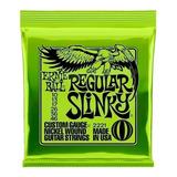 Cuerdas Eléctrica Ernie Ball 010 Encordado 0.10 Regular Slinky + Envio Full