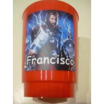 Vasos Plasticos Personalizados Thor Lavables 10u