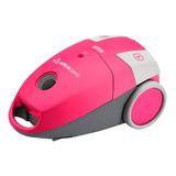 Aspiradora Ultracomb As-4214 3.5l Rosa Y Gris