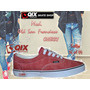 Zapatillas De Skate Qix Old San Francisco Cherry