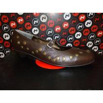 Zapatos Cuero Corre Lola Art5750 Tachas $ 299 Solo Talle 39