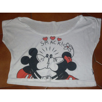 Remera Pupera Mickey Minnie Grande