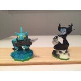 2 Muñecos Skylanders Usados Pero Como Nuevos