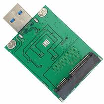 Adaptador Ssd Mini Pci-e Msata A Usb 3.0 Crea Tu Ssd Externo