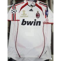 Camiseta adidas Ac Milan Retro 2007 Suplente #10 Seedorf