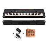 Teclado Organo Yamaha Psr E263 5 Octavas 61 Teclas 400 Sonidos 32 Notas De Polifonia 130 Estilos + Fuente + Envio