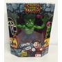 Stretch Strong Monsters Dracula Y Frankenstein Original