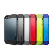 Funda Slim Armor Spigen Iphone 5 5s + Film