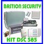 Kit Basico -alarma Domiciliaria Dsc 585 8 Zonas Con Bateria