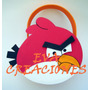Bolsitas Golosineras Angry Birds En Goma Eva