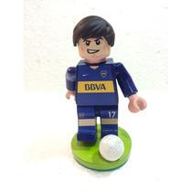 Adorno Para Torta Lego Jugadores Fútbol Boca
