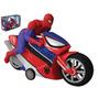 Spiderman Moto A Friccion Hombre Araña Licencia Original