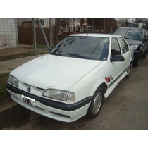 Renault 19 Red 4p Aa Da