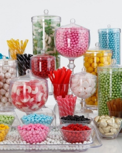 Combo Candy Bar, Golosinas Por Color **mesa Dulce**